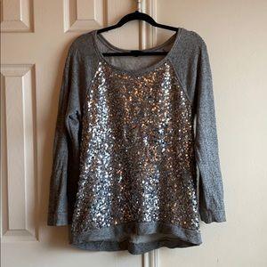 JCrew Embellished Sweatshirt